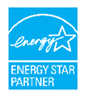 Energy Star logo indicating The Home Store builds energy efficient modular homes