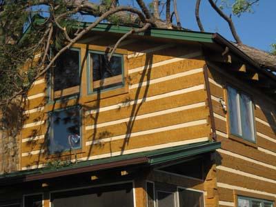 Log Home Survives Tornado Unlike 27-inch Tree