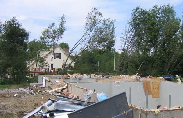 Modular Homes Survive Tornado Unlike Surround Stick Build Homes