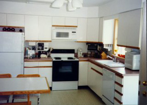Kitchen in Modular Home Echo In-Law Addition