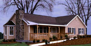 Award Winning Universal Designed T-Ranch Modular Home
