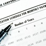 A schedule of payments for your loan preapproval for your new modular home