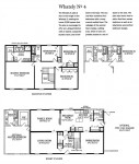 The Home Store's two-story Whately 4 modular home plan with optional master bedroom on the first floor