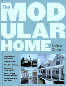 Cover of The Modular Home book by Andy Gianino, President of The Home Store