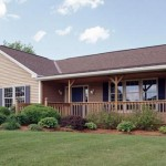 The Home Store's Accessible T-Ranch Model Home with Front Porch