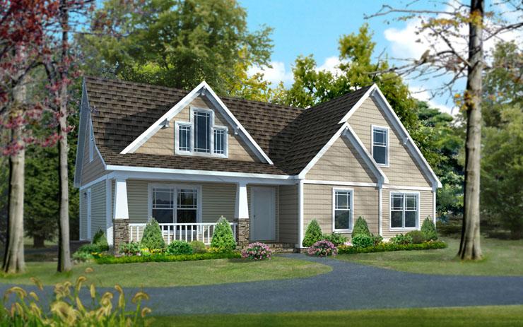 Branson modular home floor plan for Cape modular home plans