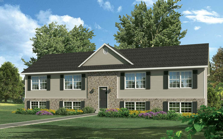 Carroll modular home floor plan for Modular duplexes