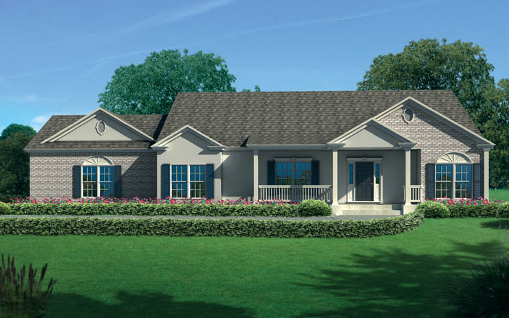 Bellevue Modular Home Floor Plan