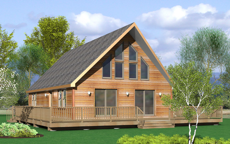 Modular home modular home chalet plans for Chalet homes