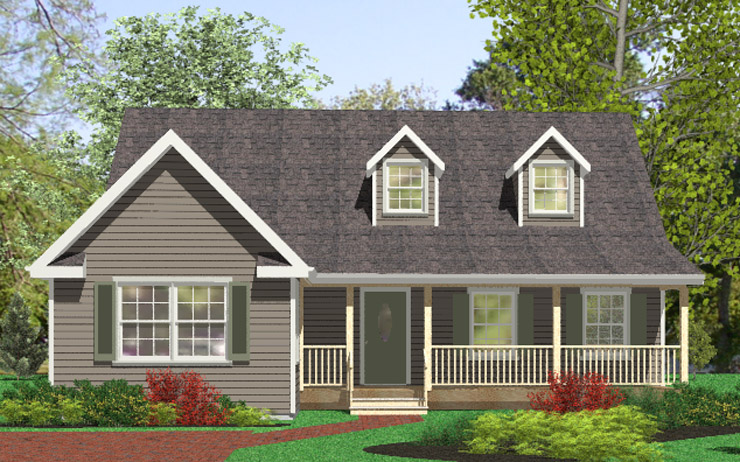 Newmarket modular home floor plan for Additions to cape cod style homes