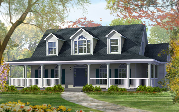 Winchester modular home floor plan Cape cod model homes