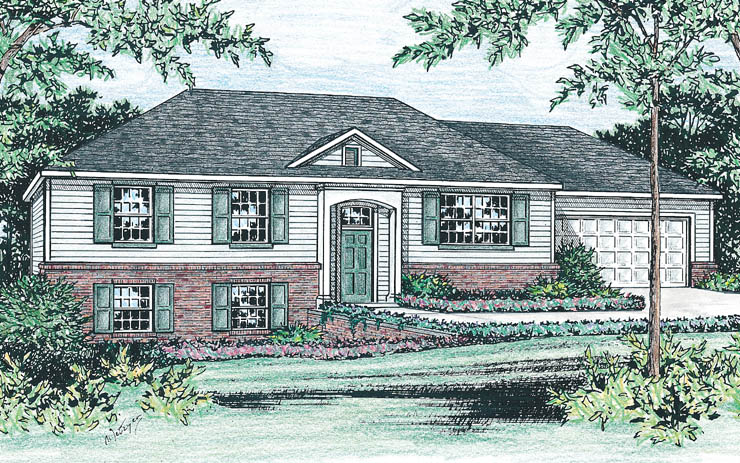 Raised ranch house plans 15 photo gallery house plans Raised homes floor plans
