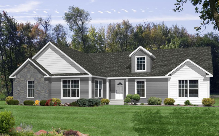 One Story Modular Home Plans Including T Ranch H Ranch