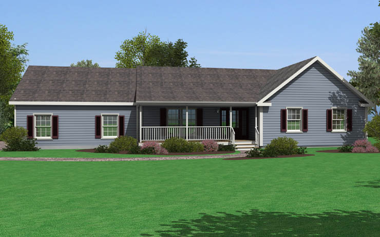 Sugarloaf 1 Modular Home Floor Plan