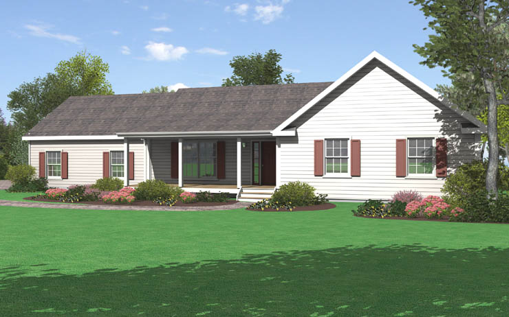 Sugarloaf 3 modular home floor plan for Modular ranch plans