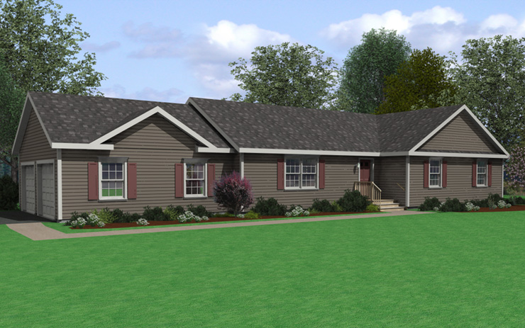 Sugarloaf 6 Modular Home Floor Plan