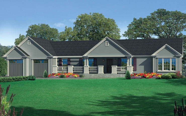 Bishop modular home floor plan for One story modular homes