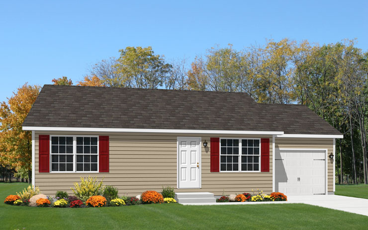 Chester 1 Story Modular Home Floor Plan