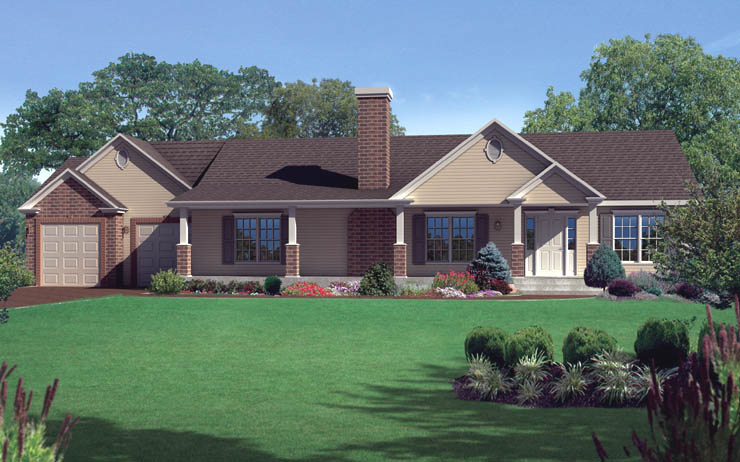 Dillworth Modular Home Floor Plan