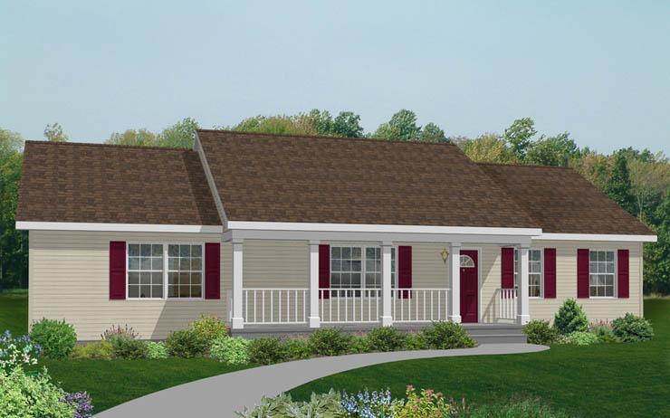 Ellensburg Modular Home Floor Plan