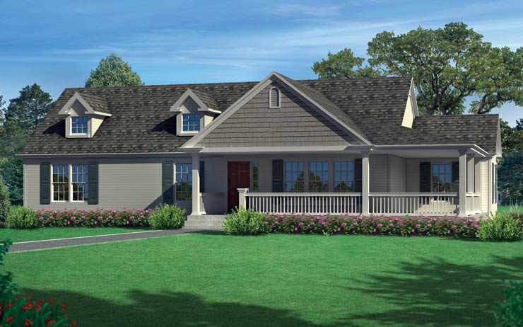 Tanner Ridge Modular Home Floor Plan