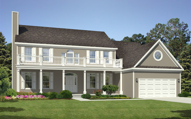 Tidewater modular home floor plan for Tidewater style homes
