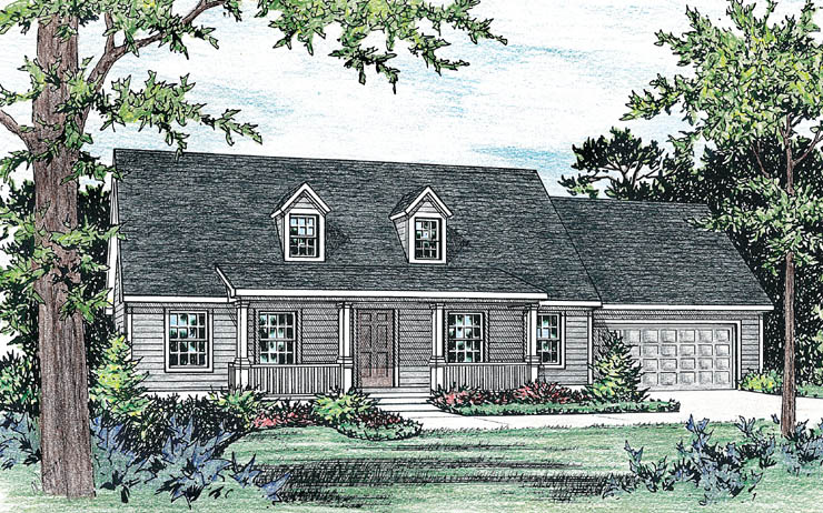 Nantucket Modular Home Floor Plan