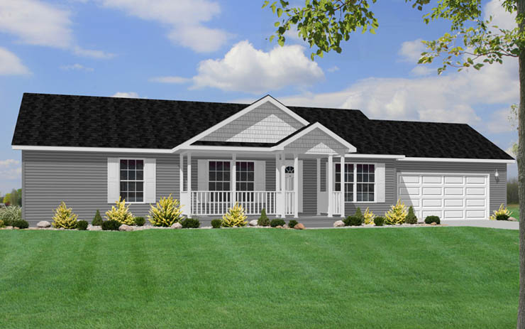 Kenilworth Modular Home Floor Plan