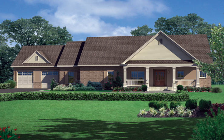 Rockefeller Modular Home Floor Plan