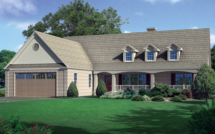 Sandusky One Story Modular Home Floor Plan