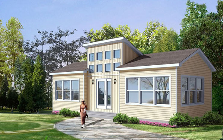 Trailblazer Modular Home Floor Plan