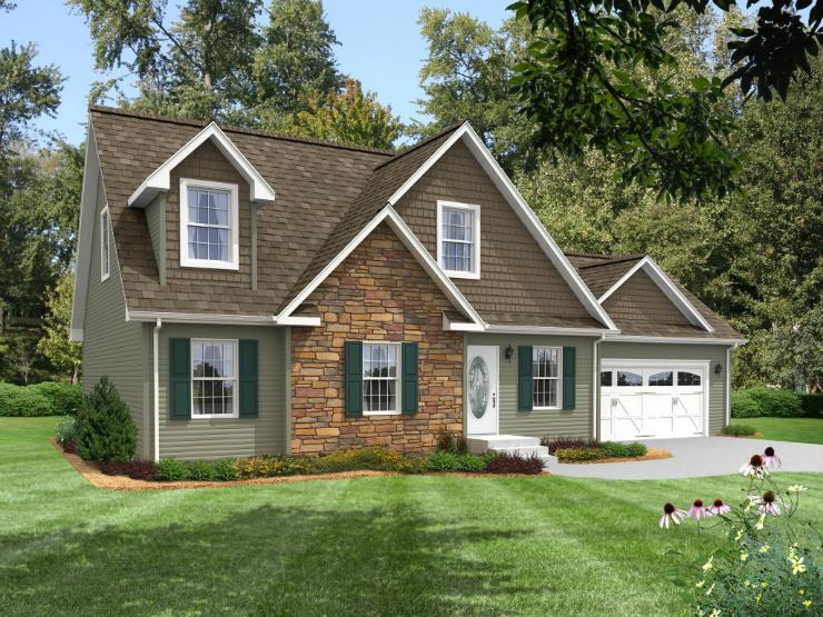 Walworth 1 Story Modular Home Floor Plan