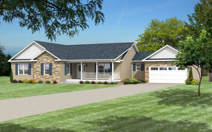 Prescott Modular Home Floor Plan