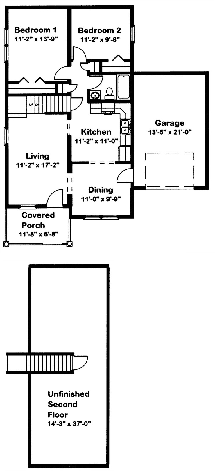 Brighton Modular Home Floor Plan