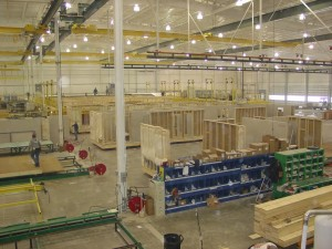 Inside the Pennwest/Manorwood Homes Factory