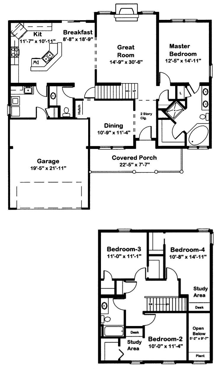 Keystone Modular Home Floor Plan