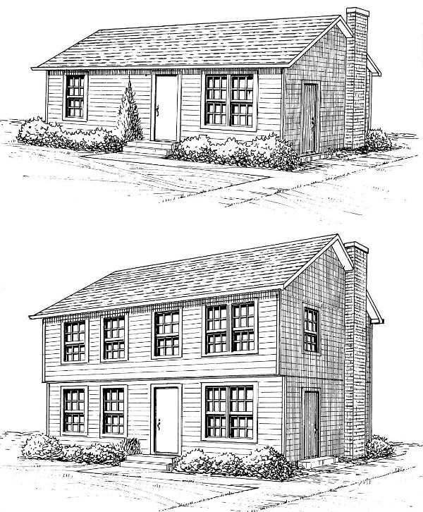 Advice on modular home plans from the blog for 2nd story addition plans