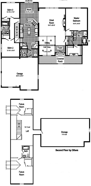 Pembrooke Modular Home Floor Plan
