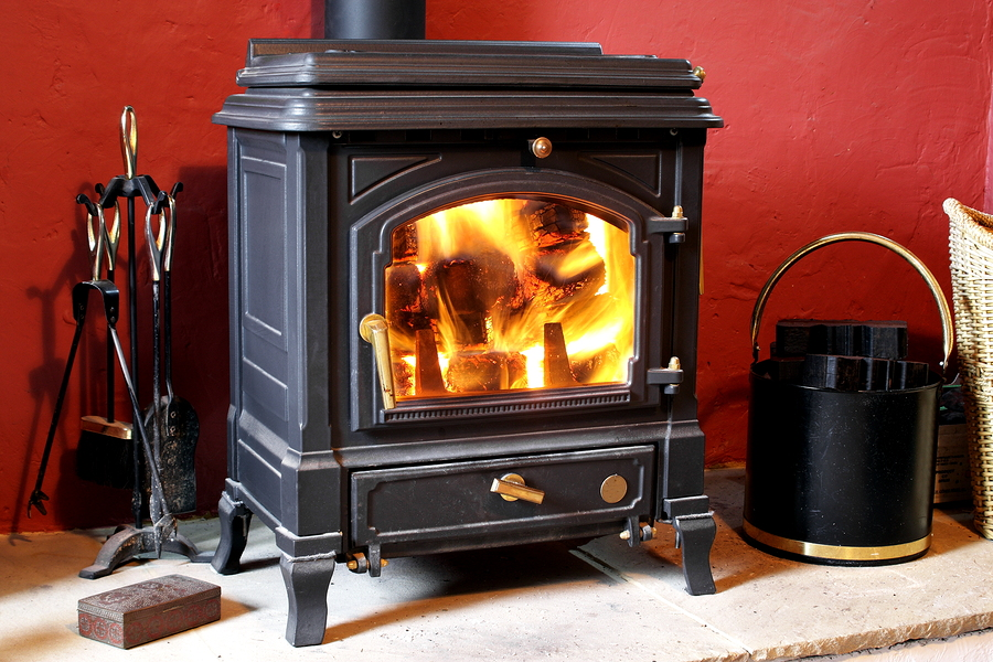 Wood and pellet stoves can cause excessively fast drying in a new home, especially if cranked up to a high temperature during the first heating season.