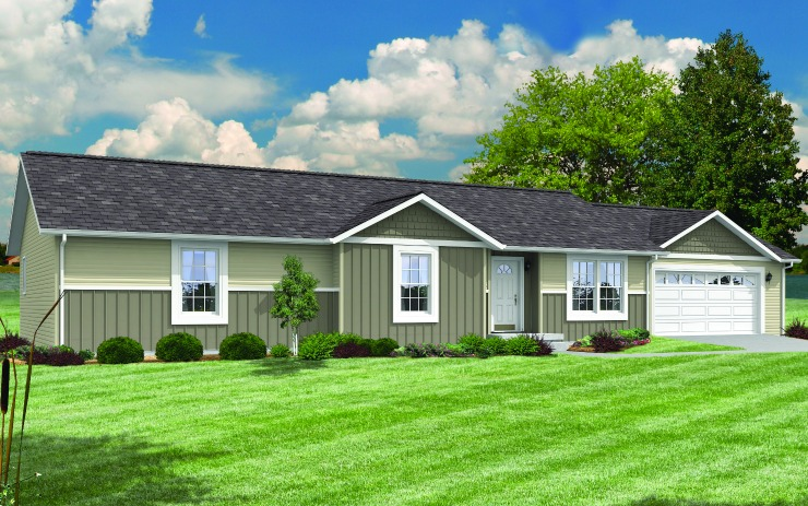 Abilene Modular Home Floor Plan