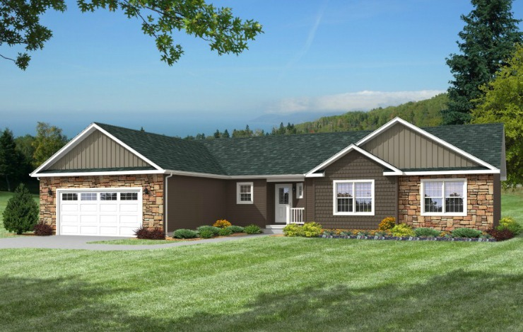 Barclay 1 Story Modular Home Floor Plan