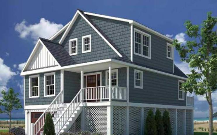Boardwalk cape modular home floor plan for Cape modular home plans