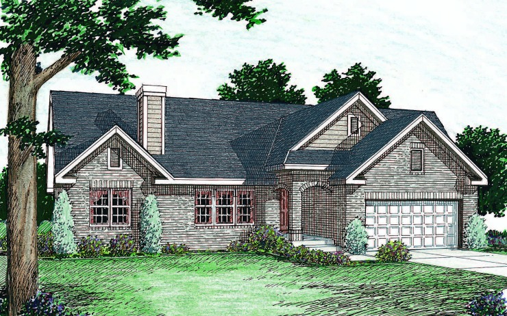 Brookside 1 Story Modular Home Floor Plan