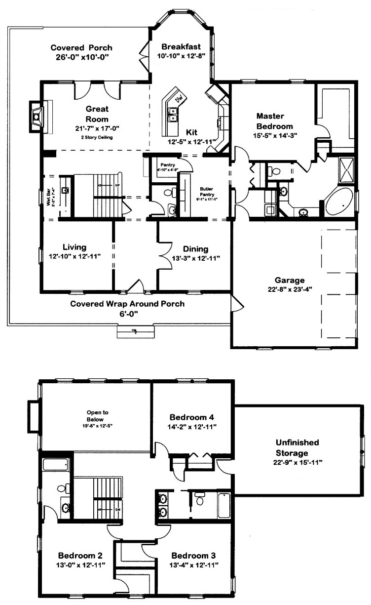 Canton 2 story modular home floor plan for 2 story mobile home floor plans