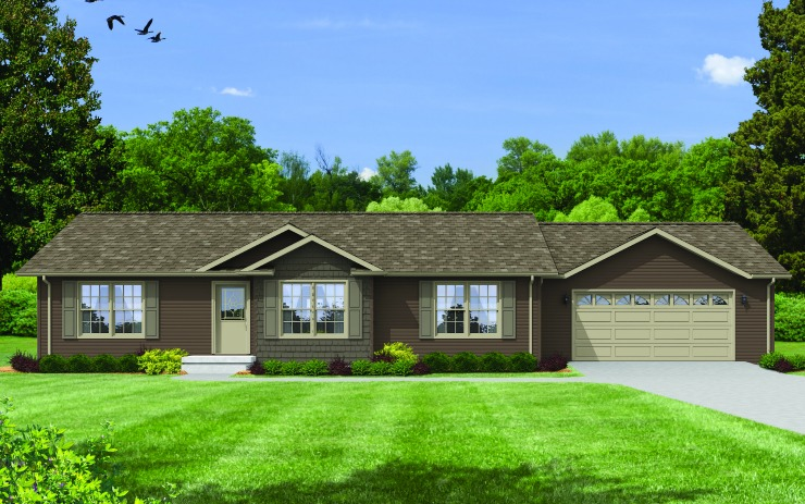 Evergreen Modular Home Floor Plan