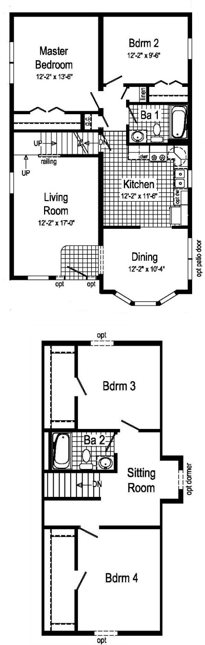 Gingerbread modular home floor plan for Gingerbread house floor plans