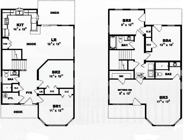 Ocean Breeze Modular Home Floor Plan