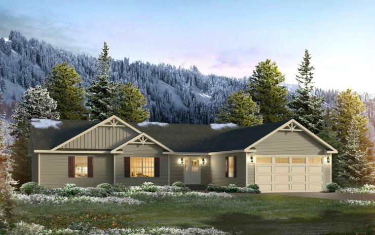 Summerdale Modular Home Floor Plan