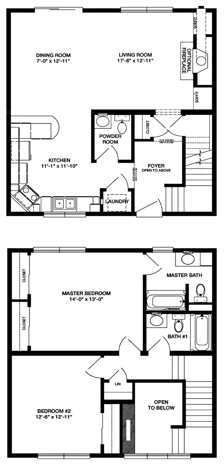 Preston modular home floor plan for Prefab kitchens prestons