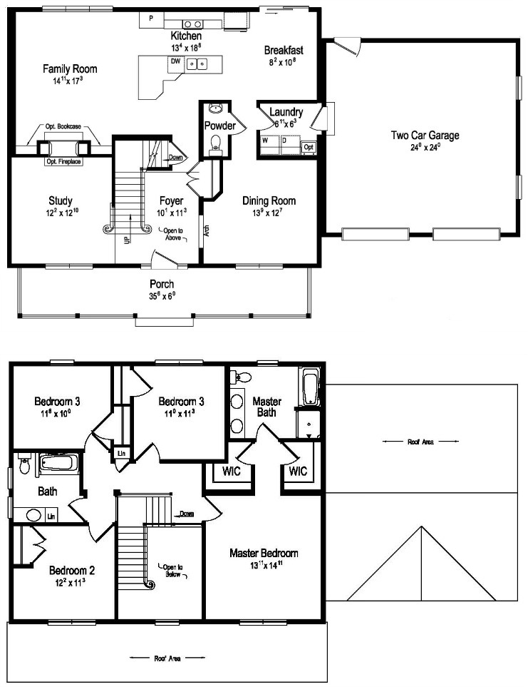 Sycamore modular home floor plan for 2 story mobile home floor plans